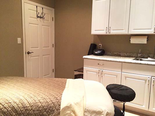 Chiropractic Trinity FL Massage Room